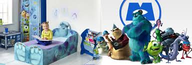 Does Your Child Love The Disney/Pixar Movie: Monsters Inc. ? If So  Great Kidsbedrooms Has All The Furniture And Matching Accessories  Customised With Disney ...
