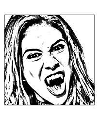 Coloriage A Imprimer Chica Vampiro Collection Coloriage En Ligne