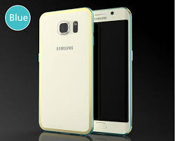 samsung galaxy s6 gold case. gold samsung galaxy s6 and edge plastic cases or covers with metal frame sg612 - case