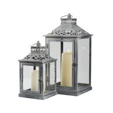 washed lanterns pack silver