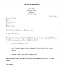 sample letter employee 18 letter of employment templates free sample example format
