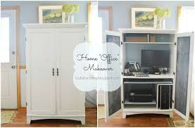 home office diy. diy home office makeover chalkboard paint painted furniture e