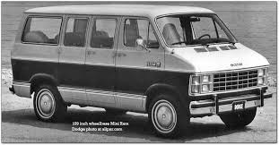 dodge b series vans ram van and ram wagon dodge mini ram