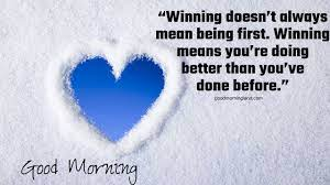 Good morning quotes ...