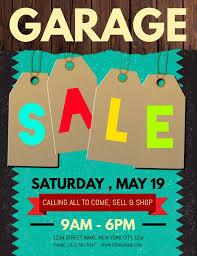 Free For Sale Flyer Template Flyer Garage Sale Magdalene Project Org