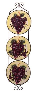 Grape Kitchen Decor Accessories Grape Kitchen Decor Accessories Italian Wall Decor Tuscan Clocks 64