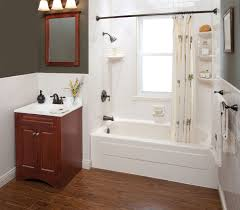 Small Bathroom Remodel Ideas On A Budget Light Brown Wooden Vanity - Bathroom cabinet remodel