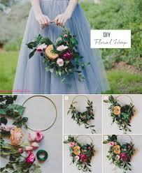 floral hoop diy how to make fake flower arrangements i77