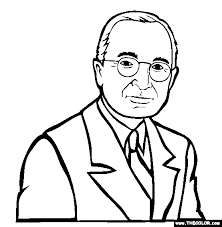 Small Picture Presidents Online Coloring Pages Page 1