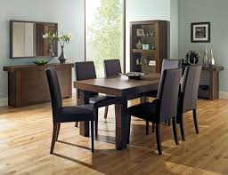 bentley designs akita walnut r dining table and 8 chairs for uk best round extendable dining table
