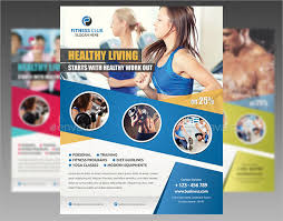 Training Flyer Training Flyer 9 Fitness Center Flyers Psd Eps Vectors Indesign File