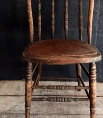 Primitive Kitchen Furniture Primitive Antique Spindle Back Chair Urban Farmhouse Kitchen