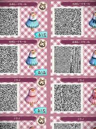 Qr Code Designs New Leaf Acnl Flannel Qr Code