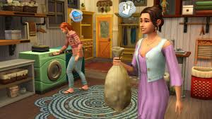 Image result for Sims washing up