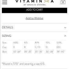 Vitamin A Serra Keyhole Wrap Bikini Top Nwt