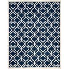 navy blue rug 8x10. Indoor Outdoor Rugs 8x10 Navy Beige 8 Ft X Rectangle Area Home Depot . Coastal Blue Rug