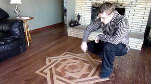 how to make hardwood floor medallions