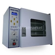 Dentrealmarket | Mega-Term E220P Sterilizatör 22 LT Dijital Etüv Camlı