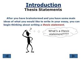 the thesis statement acirc copy by ruth luman a road map for your 2 the thesis statement acirccopy 2001 by ruth luman a road map for your essay references essay introduction thesis statement body paragraph 1 body paragraph 2