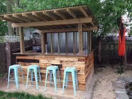 outdoor bar ideas for exterior house