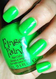 Finger Paints Silkscreen Green In 2019 Nail Colors