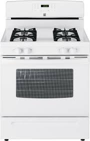 Gas Kitchen Ranges Kenmore 74032 50 Cu Ft Gas Range White