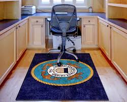 us coast guard logo rugs