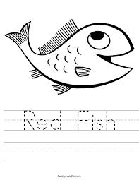red fish_worksheet fish worksheet termolak on balancing worksheet