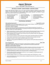 Mechanical Engineer Resume Example Resume Solagenic