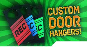 creative door hangers. [TUTORIAL] How To Make Custom Door Hanger Signs - Let People Know You Are Recording A Video! YouTube Creative Hangers