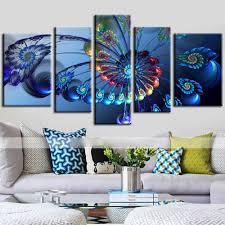 Peacock Living Room Decor Online Get Cheap Peacock Canvas Wall Art Aliexpresscom Alibaba