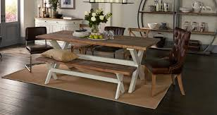 white dining table shabby chic country. Perfect For A Country-style Kitchen, The Fête Range Captures Shabby Chic With White Dining Table Country