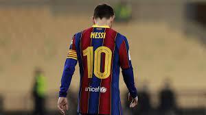 رسميا.. برشلونة يعلن رحيل ميسي