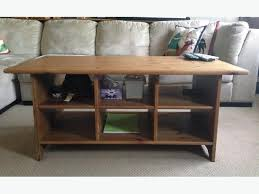 IKEA Wooden Coffee Table with Storage - Moving Sale