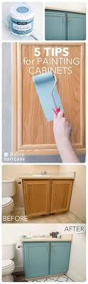 painting bathroom tips for beginners. teal-ish cabinets for hall bathroom painting tips beginners e