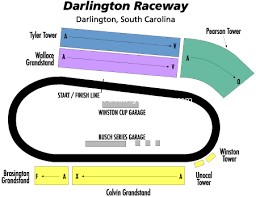 Darlington Raceway Interactive Seating Chart Darlington Raceway Darlington Sc Seating Chart View