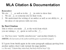 mla citation documentation using a primary source to support a  3 mla