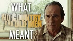 no country for old men out in all that dark scanners no country for old men essay analysis
