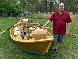 making a bamboo drift boat is just like making a bamboo fly rod times 10