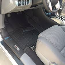 black front floor mats for a 2016 2016 toyota tacoma double cab