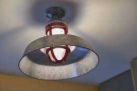 professional s corner ceiling lights add rustic modern mix
