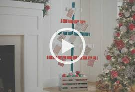 Free Standing Christmas Card Holder Display Christmas Tree Card Holder At The Home Depot 53