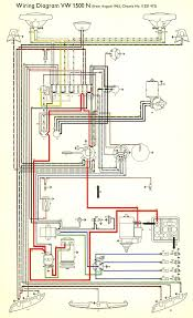 thesamba com type 3 wiring diagrams 1964