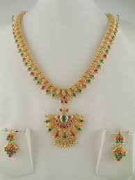 1gm gold jewelry sets