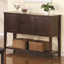 buffet server furniture. Simple Dining Room Design With Cappuccino Finish Buffet Server, Two Drawers Side Cabinet, And Server Furniture Detainee 063
