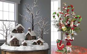 cheap christmas decor:  christmas decoration  ideas of making christmas table decorations ideas