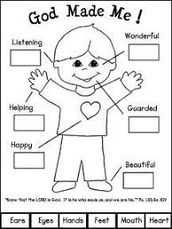 creation coloring sheet preschool creation coloring sheets god made me book craft for