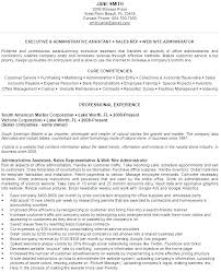 Administrative Assistant Resume Objective Sample Administrative Assistant Sample Resume Administrative Resume 99
