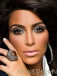 kim kardashian makeup look