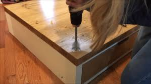 washer and dryer stands. In Order To Do This, You Will Need Measure The Center Dimensions Of Feet On Washer And Dryer. These Holes Be As Exact Dryer Stands
